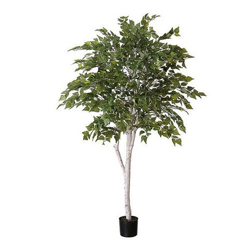 Artificial Birch Tree With White Trunk 160cm (5ft)