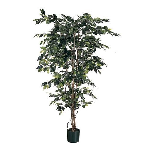Artificial Ficus 200cm (6ft), x1248 Tips, Green