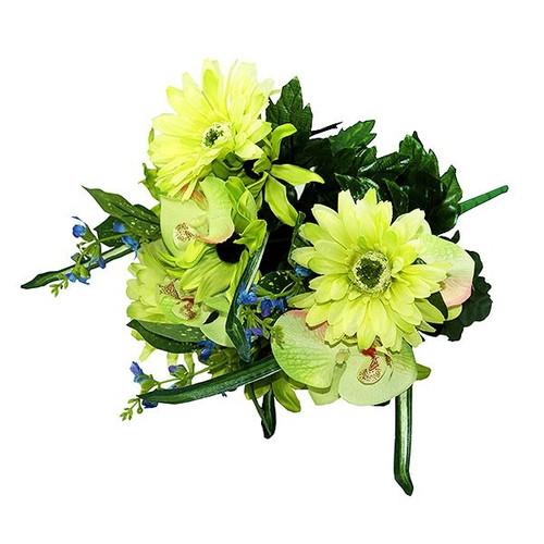 Bouquet - Gerbera / Orchid Bush, Green