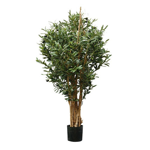 Artificial Olive Tree With Real Wooden Stems, 95cm
