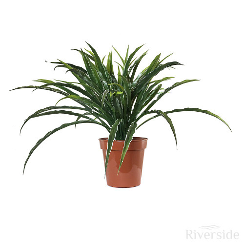 Artificial Potted Grass Bush, Variegated