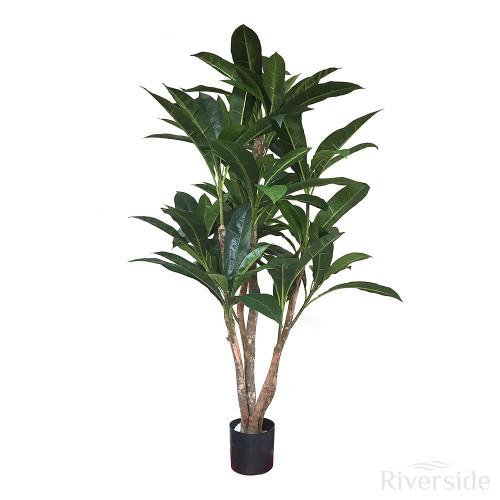 Artificial Plumeria Tree, 142cm (4ft)