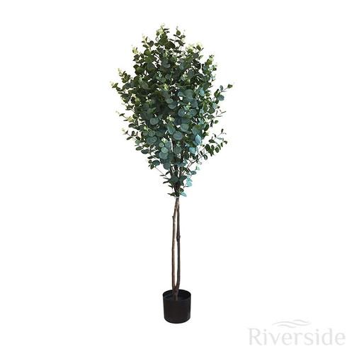 Artificial Eucalyptus Tree 150cm (5ft), Green