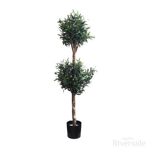 Artificial Double Ball Olive Tree, 4ft