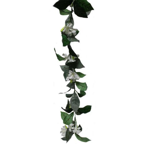 Artificial Garland - Jasmine White, 160cm