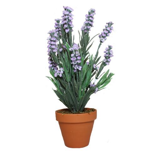 Artificial Lavender Bush, Lavender 30cm