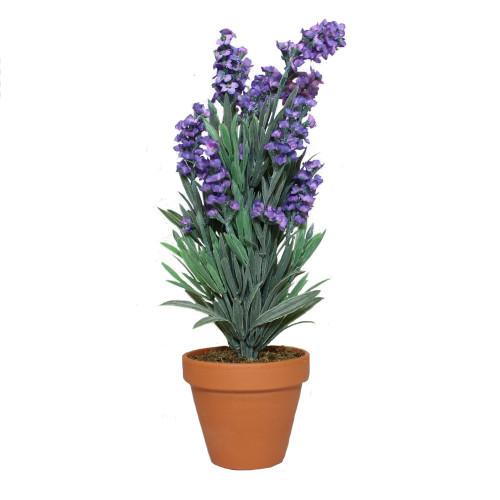 Artificial Lavender Bush, Purple 30cm