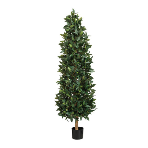 Artificial Bay Leaf Tower Tree, 183cm (6ft)