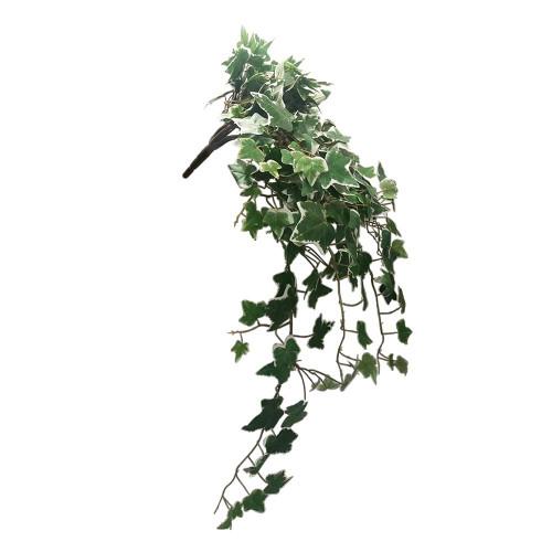 Artificial Ivy Hanging Bush, Variegated