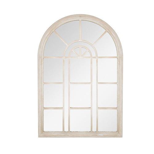 Garden Mirror Rounded Arch Stone Effect