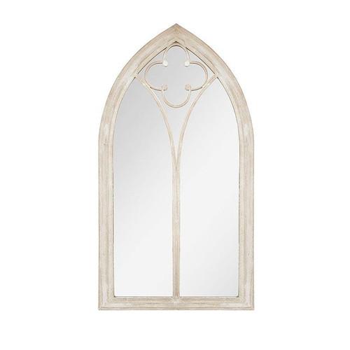 Garden Mirror Church Window Stone Effect