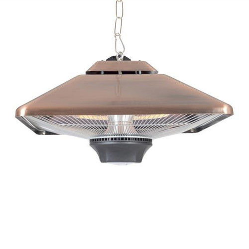 Hanging Square Halogen Electric Heater, Remote Control