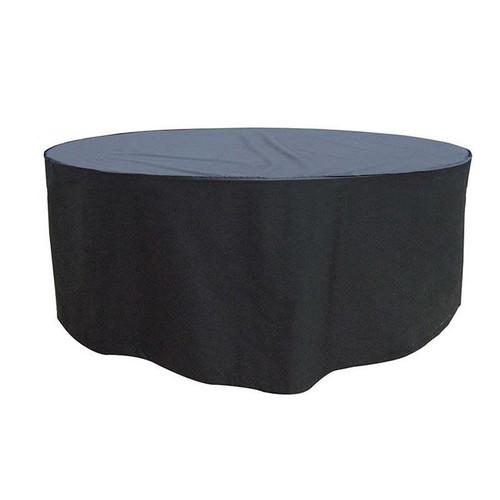 Garland 8 Seater Round Furniture Set Cover, Black