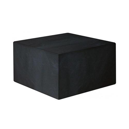 Garland 4 Seater Medium Cube Set Cover, Black