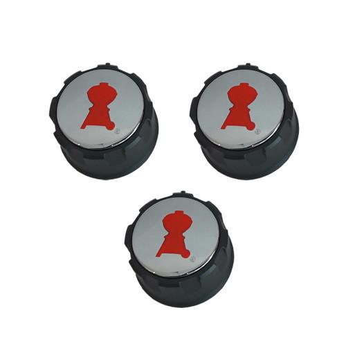 Weber® Replacement Control Knob Set for Spirit® 300 Series