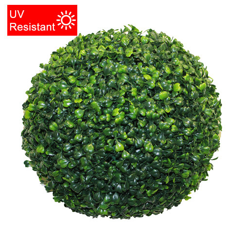 UV Resistant Artificial Topiary Boxwood Ball, 30cm