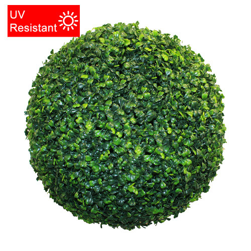 UV Resistant Artificial Topiary Boxwood Ball, 40cm