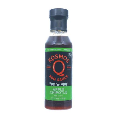 Kosmo's Q 'Sweet Apple Chipotle' BBQ Sauce - 439g (15.5oz)