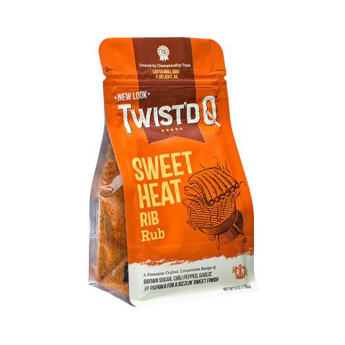 Twist'd Q 'Sweet Heat' Rib Rub - 170g (6oz)