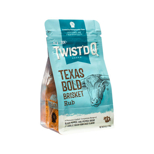 Twist'd Q 'Texas Bold' Brisket Rub - 170g (6oz)