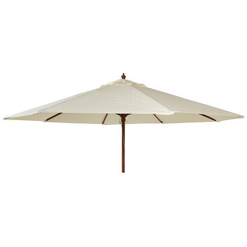 Alexander Rose Round Wooden Parasol 3.0m