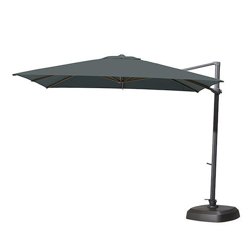 4 Seasons Outdoor - Siesta Parasol, Charcoal