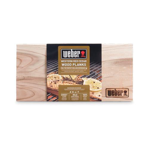 Weber® Western Red Cedar Wood Planks (2 pc)