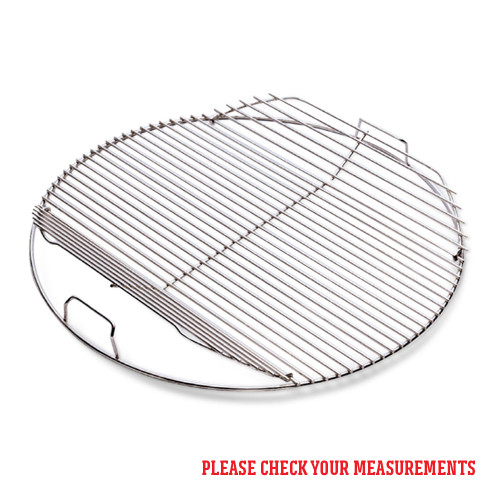 Weber® 57cm Hinged Cooking Grate Stainless Steel