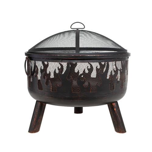 Wildfire Steel Firebowl w/Grill 61cm