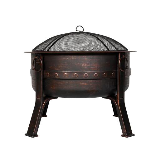 Brava Steel Branded Firepit