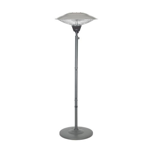 Standing Carbon Fibre Heater Grey