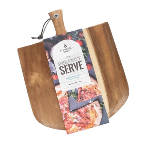 The Alfresco Chef Acacia Wood Peel