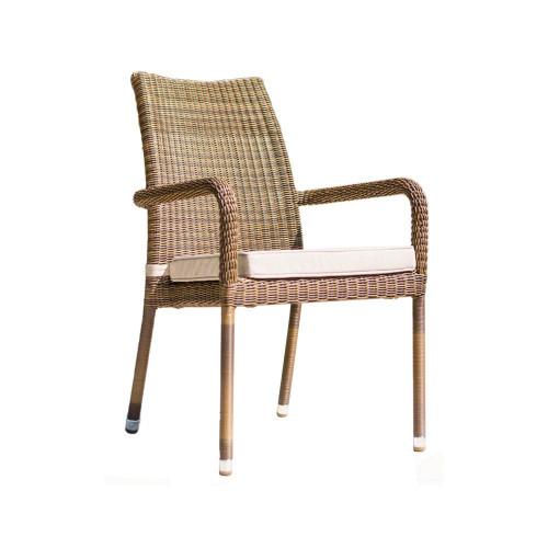 Alexander Rose San Marino Rattan Stacking Armchair (Cushion Sold Separately)