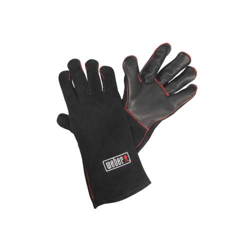 Weber® Leather BBQ Gloves