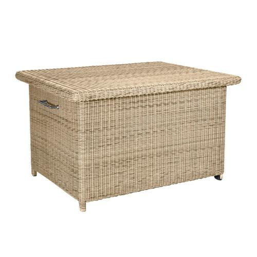 4 Seasons Outdoor - Wales Rattan Cushion Storage Box, Praia