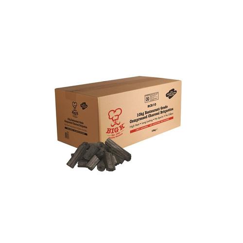 Big K Restaurant Charcoal Briquettes, 10KG