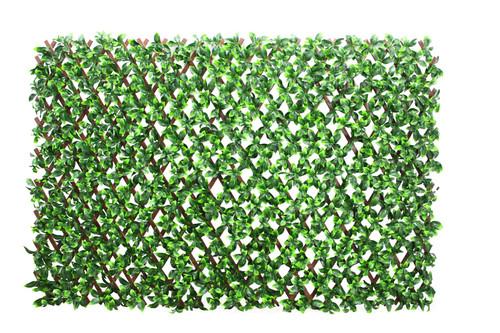 WonderWal Artificial Gardenia Leaf Trellis 100x200cm