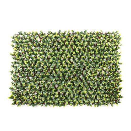 WonderWal Artificial Laurel Leaf Trellis 100x200cm