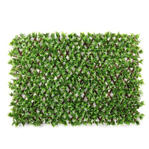 WonderWal Artificial Vine Leaf Trellis 100x200cm