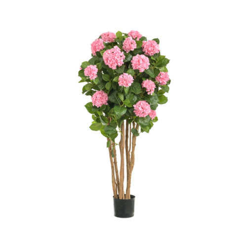 Artificial Hydrangea Tree 4ft Pink