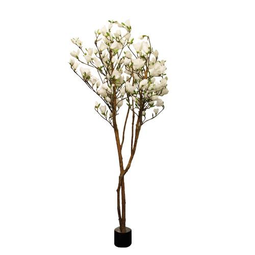 Artificial Magnolia Tulip Tree 6ft Cream