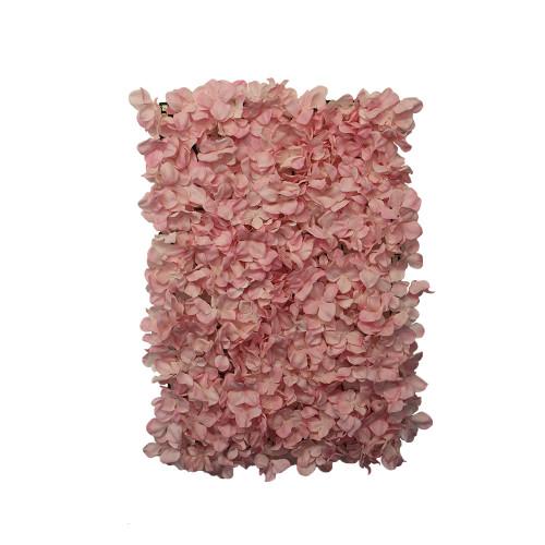 Artificial Hydrangea Mat Pink 60cm x 45cm