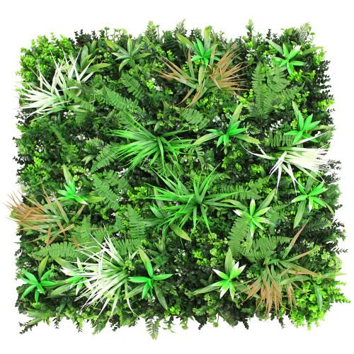 Artificial Hedge Screening - Spider Fern 100 x 100cm