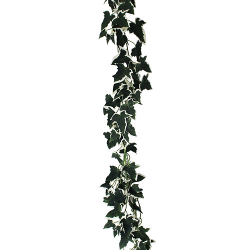 Artificial 6ft Ivy Leaves Garland Variegated