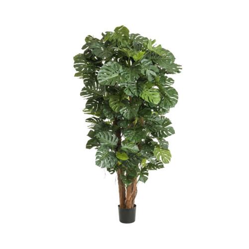 Artificial Croton Bush Varigated 40cm