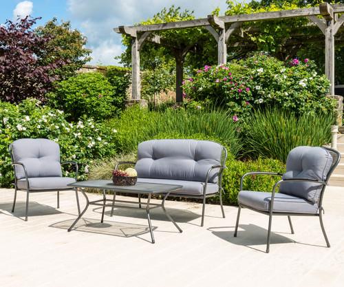 Alexander Rose Portofino Lounge Set With Cushions