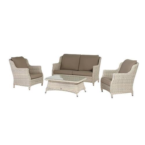 Brighton 4 Piece Luxury Rattan Sofa Set