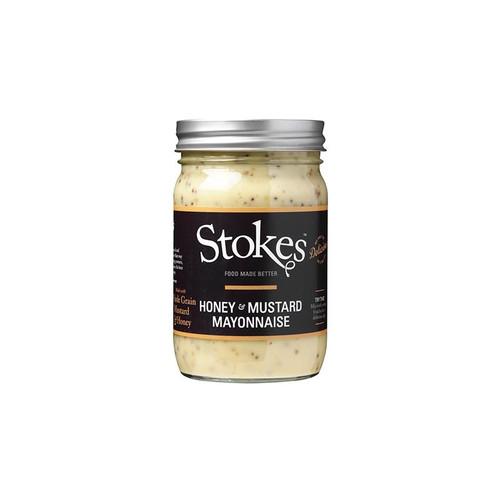 Stokes Honey & Mustard Mayonnaise (360g)