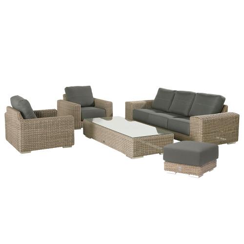 4 Seasons Outdoor - Kingston 5 Piece Sofa Set