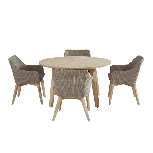 4 Seasons Outdoor - Avila Teak 4 Seater Dining Set